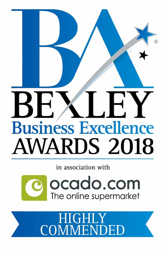 babyballet Dartford Bexley and Bromley Highly Commended for Best Entrepreneur at the Bexley Business Excellence Awards June 2018