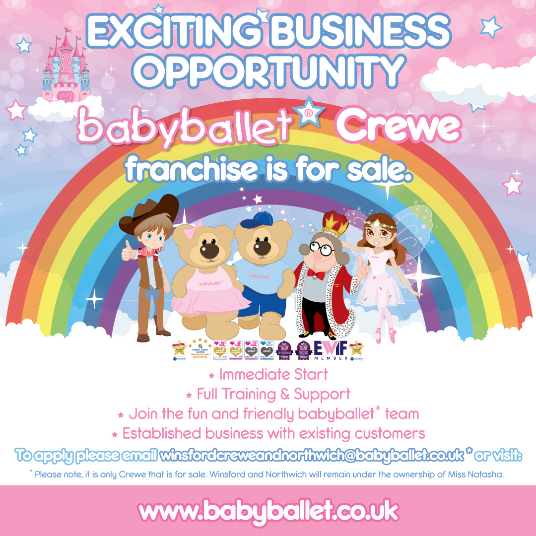babyballet business for sale Franchise Area Crewe