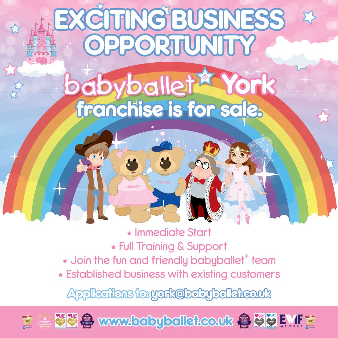 Established business for sale babyballet York