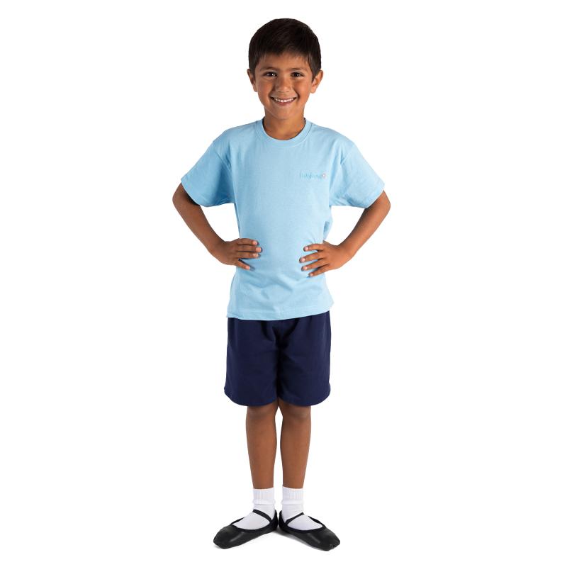 babyballet tshirt blue