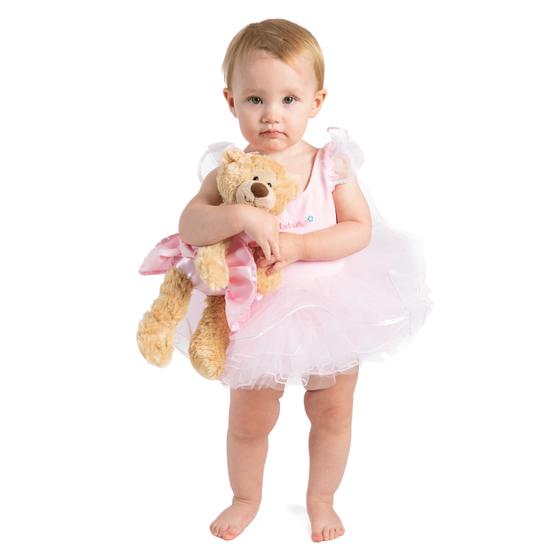 Twinkle is the cute and adorable babyballet bear. Soft and cuddly, she sports her very own babyballet tutu, so she's always ready for her ballet/dance class. Twinkle is the bear that all the little babyballet stars want to own and love! Suitable from 12 months she is the most perfect company for toddlers and young children as they learn to dance. One supplied.