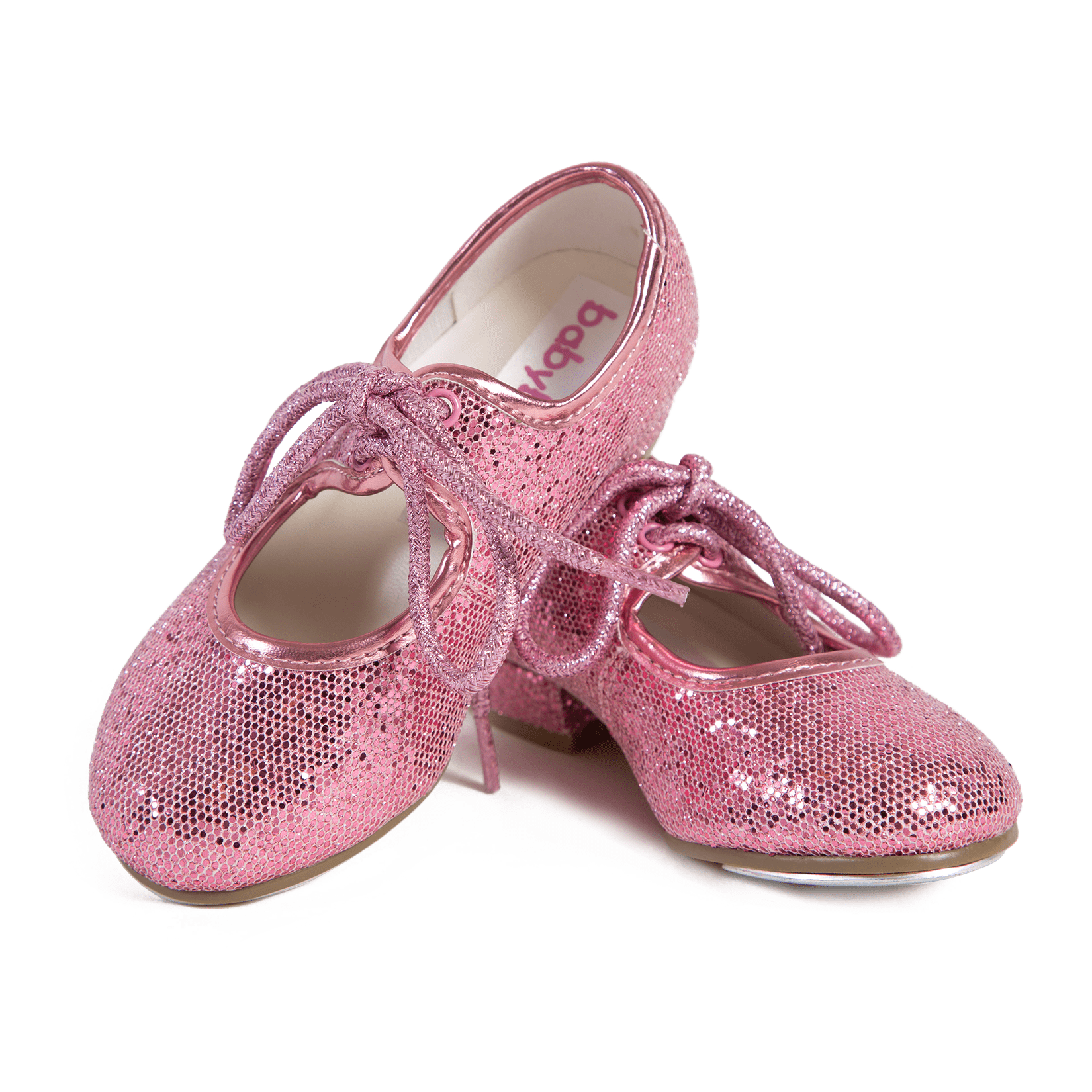 Sparkly Pink Tap Shoes Babyballet