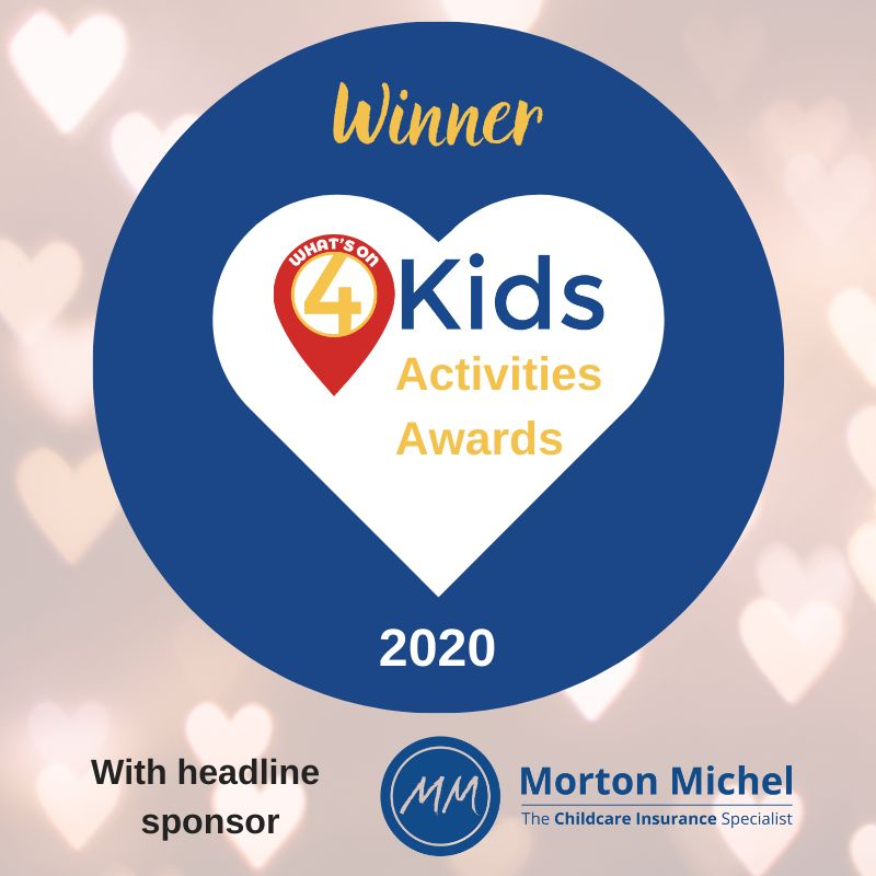 What's On 4 Kids Awards 2020 babyballet Winners
