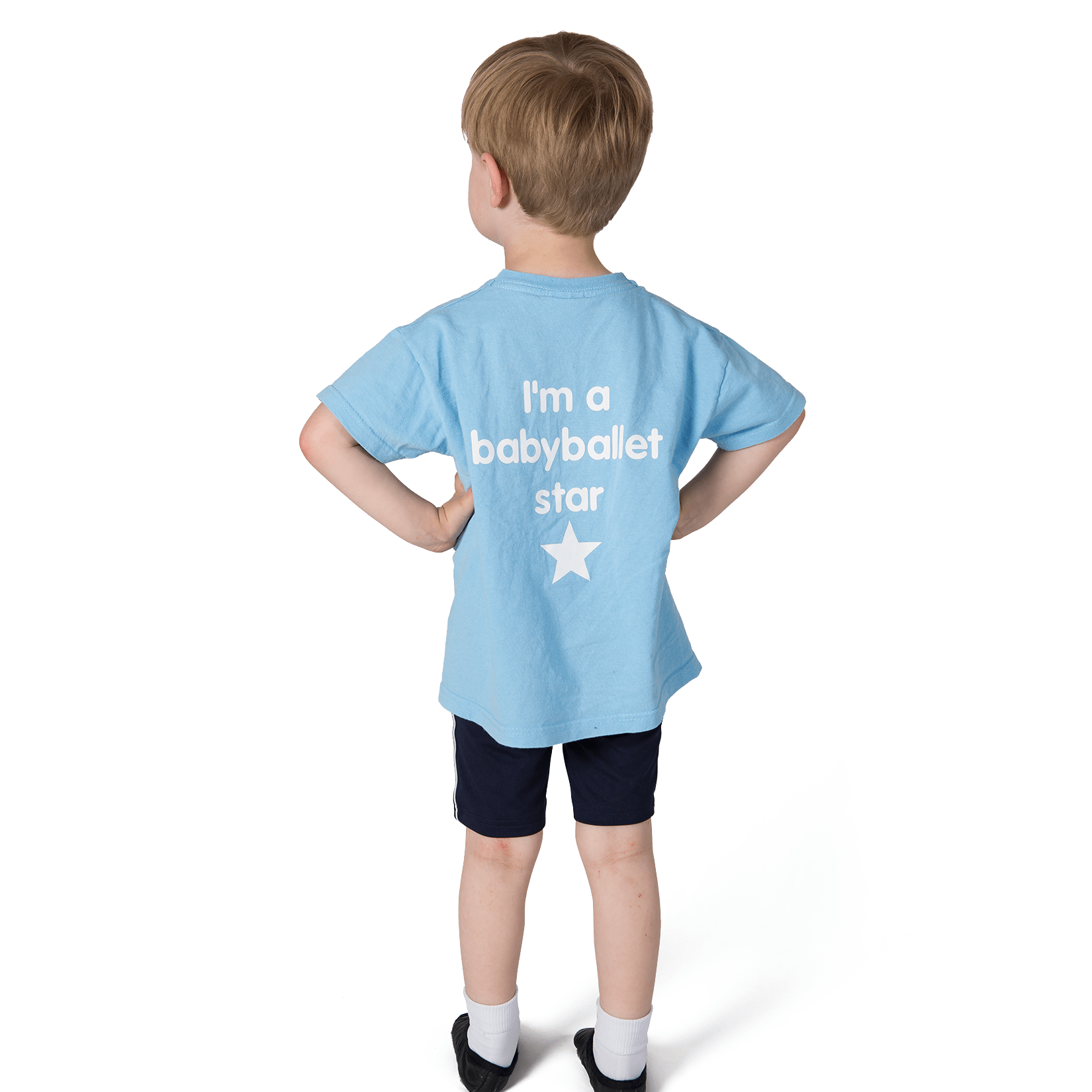 Babyballet T Shirt Blue Babyballet