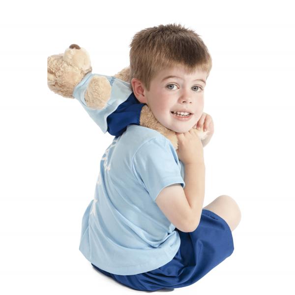 Boys babyballet Blue Logo T-Shirt