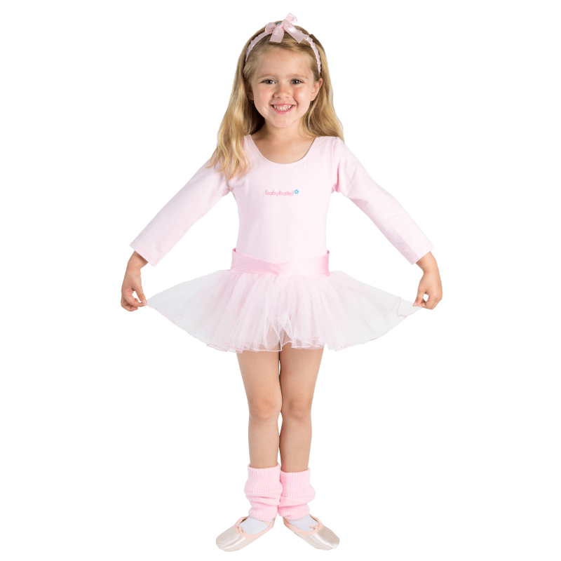Claudia Tutu long sleeved girls dance tutu perfect for winter and to keep little girls warm