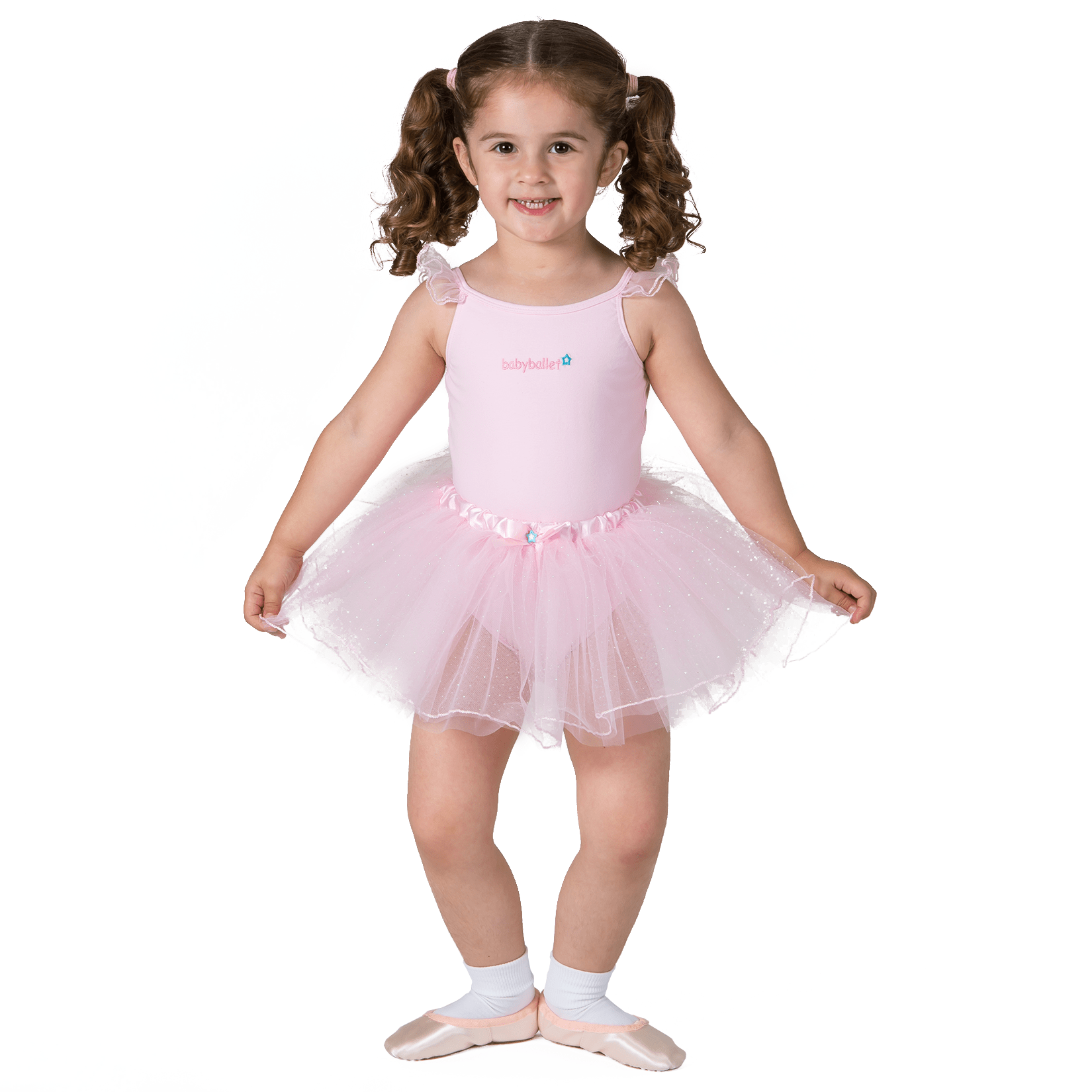 Lara Skirt Babyballet Dancewear For Kids Pink Tutu
