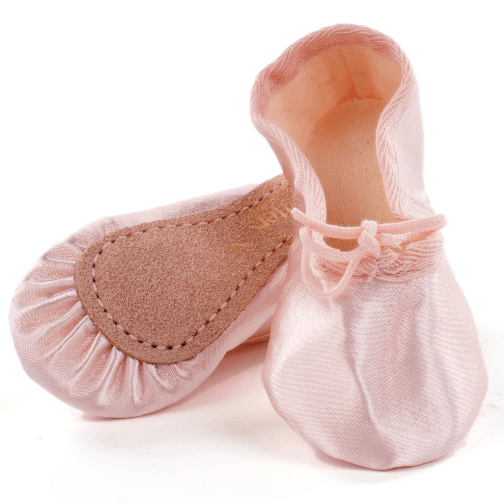 9dd6fd0d0843 Pink Satin Ballet Shoes for babyballet class