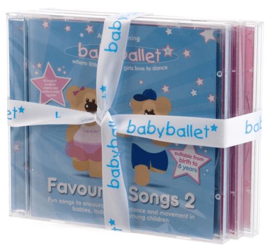 babyballet CD set of 3