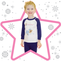 The tradition of new pyjamas on Christmas Eve is something we love at babyballet. With the favourite babyballet character Teddy the babyballet bear displayed on the front. Available for little boys and girls to sleep in cosy for the perfect christmas gift.Babyballet, babyballet boys, babyballet dancewear, babyballet outfits, babyballet pyjamas, ballet pyjamas, gifting, little boys pyjamas, little girls pyjamas, Christmas, Christmas Present, Christmas Pyjamas, Christmas Gift Idea, Babyballet Accessories, Sleepwear, Children's Sleepwear, Children's pyjamas, Kids pyjamas