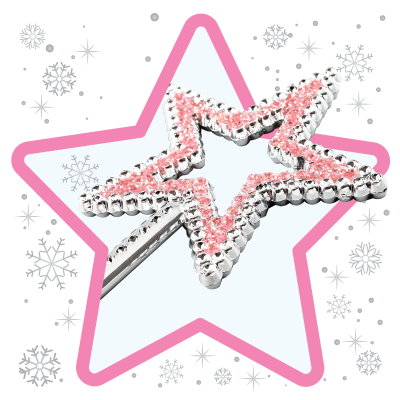 Sparkly Pink Star Wand for ballerinas and fairies little girl dress up Christmas Product babyballet (18)