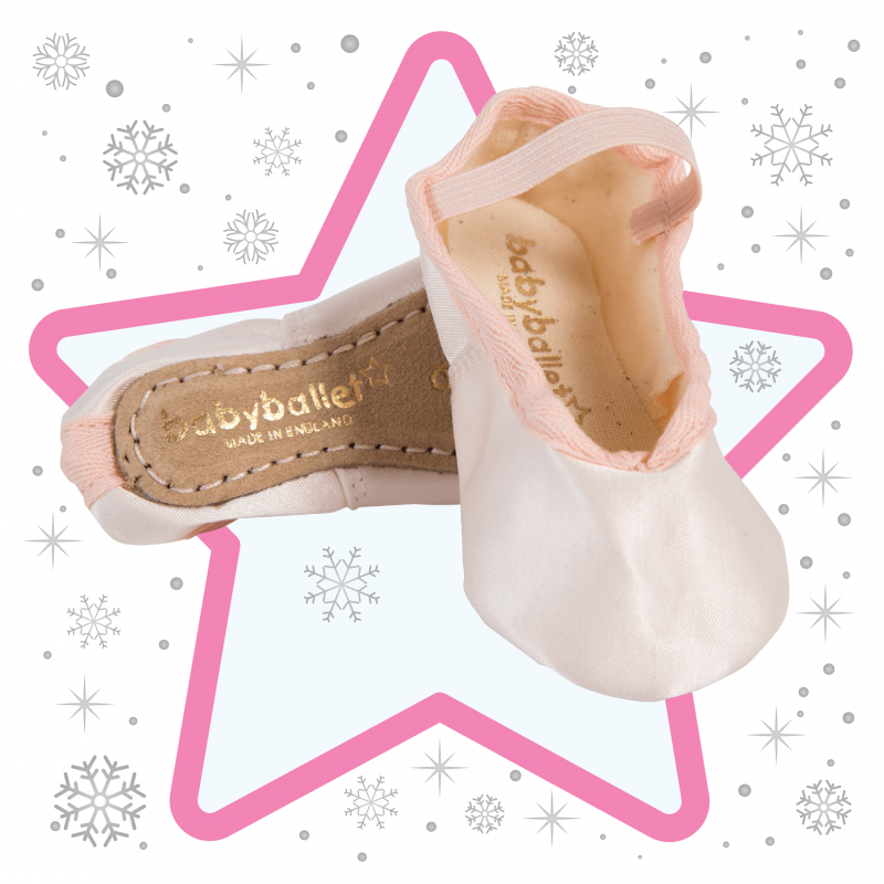 Satin babyballet shoes Christmas Product babyballet (9)