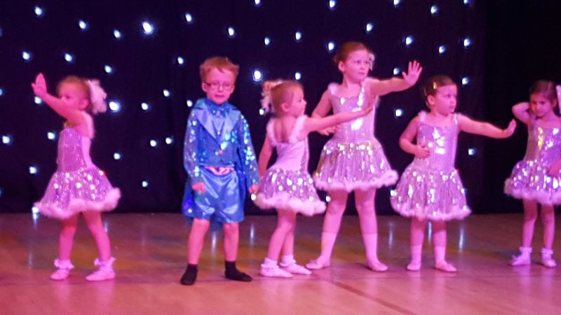 Dance show at baby ballet Bournemouth and Poole