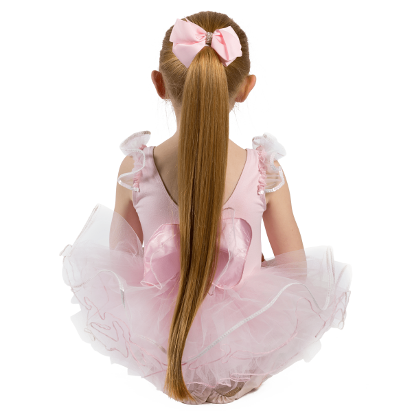 Girls Hair Bow Pink Hair Accessory to match Twinkle the babyballet bears bow