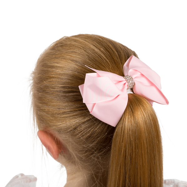 Girls Hair Bow Pink Hair Accessory to match Twinkle the babyballet bears bow 2