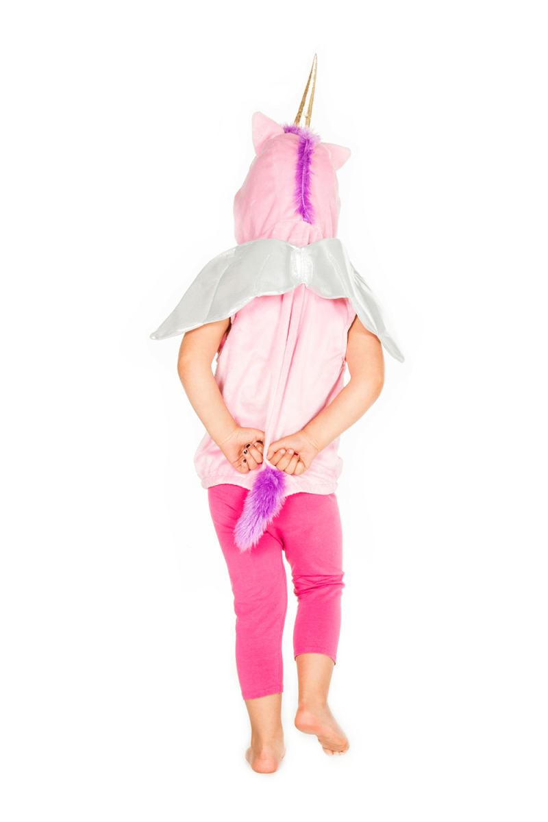 Unicorn Gilet babyballet Christmas present dress up fancy dress girls unicorn top 1
