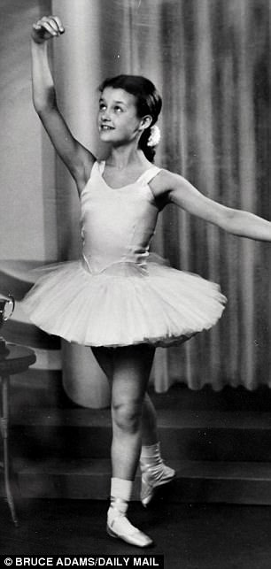 Bruce Adams Daily Mail 5: Britain's oldest ballet dancer passes elite exam... aged 80: Great-grandmother completes test with a merit 58 years after her last exam. babyballet co-founder Barbara Peters