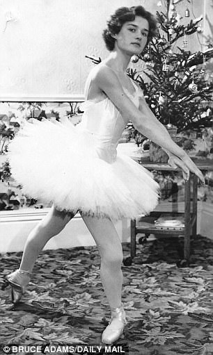 Bruce Adams Daily Mail 8: Britain's oldest ballet dancer passes elite exam... aged 80: Great-grandmother completes test with a merit 58 years after her last exam. babyballet co-founder Barbara Peters