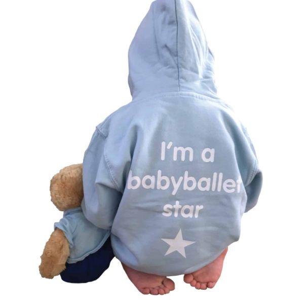 Boys blue babyballet hoody