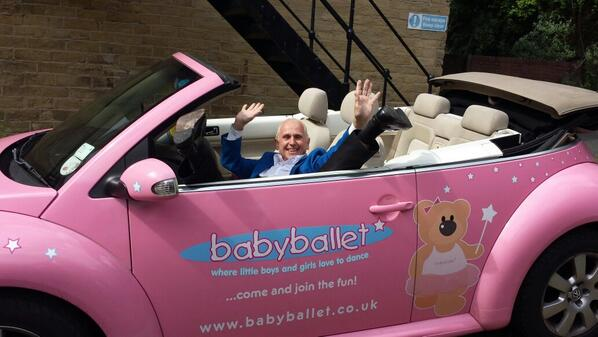 Wayne Sleep at the babyballet franchise conference