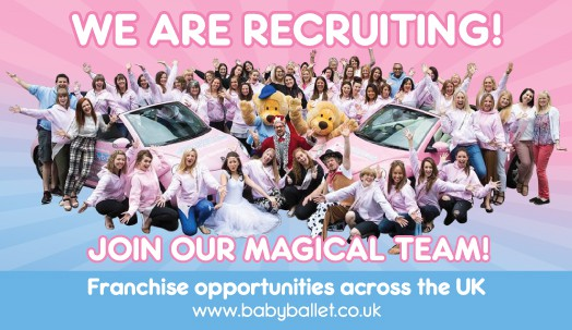 babyballet franchise opportunity recruiting dance teachers