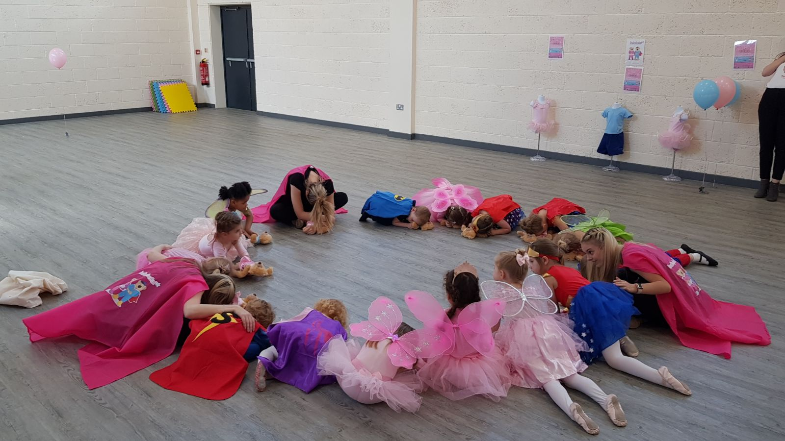 'The end of our babyballet class' at babyballet® Biggleswade during Children's Activities Week!