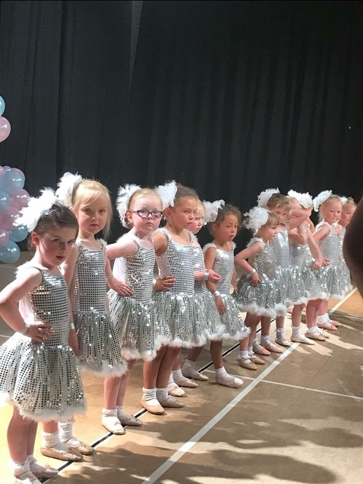 babyballet bradford north tiny dancers in their dance show
