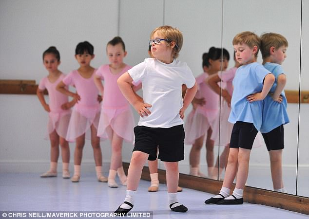 Archie babyballet star daily mail ITV this morning