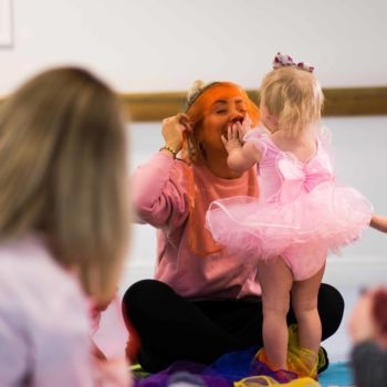 Together time. Special time spent between parents mums dads and children at babyballet dance classes where boys and girls love to dance (126)