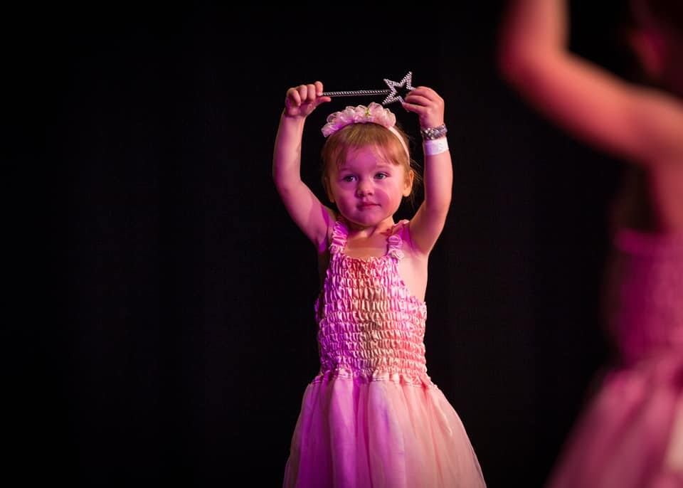 babyballet dancing show at babyballet Chester East, Wrexham, Mold and Buckley
