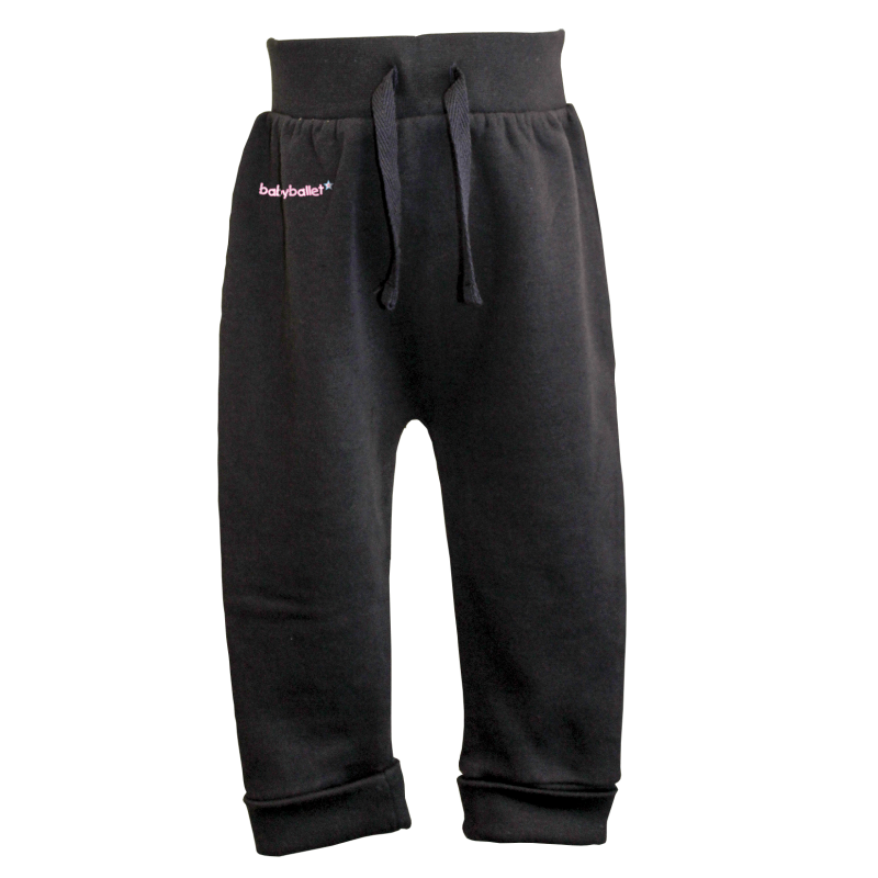 blue navy Joggers for boys and girls perfect to wear during their babyballet dance classes