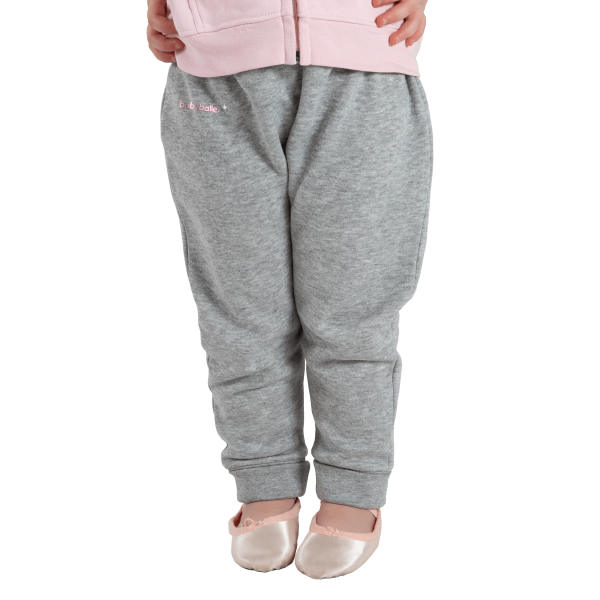 Grey Joggers for boys and girls perfect to wear during their babyballet dance classes