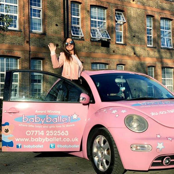 Miss Holly loves babyballet company so much she has opened babyballet Cardiff
