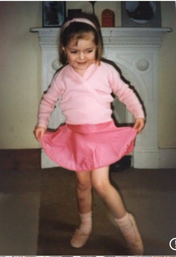 Miss Danielle was three when she first pulled on a pair of ballet shoes