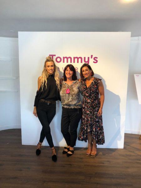 babyballet with Tara and Saira Khan at Tommy's Awards 2019