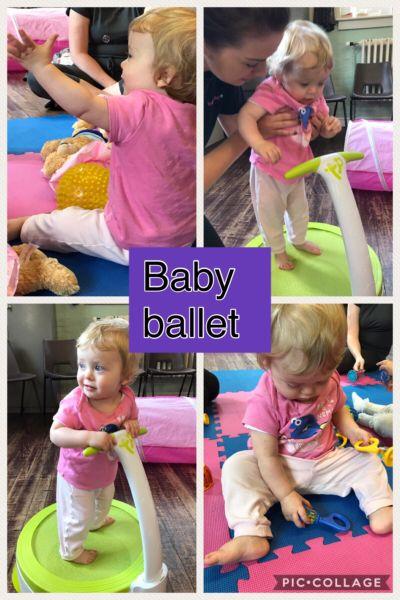 Rachel Harrison Guest Blog babyballet