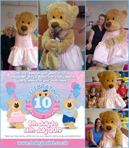 babyballet Bury and Bolton 10 years