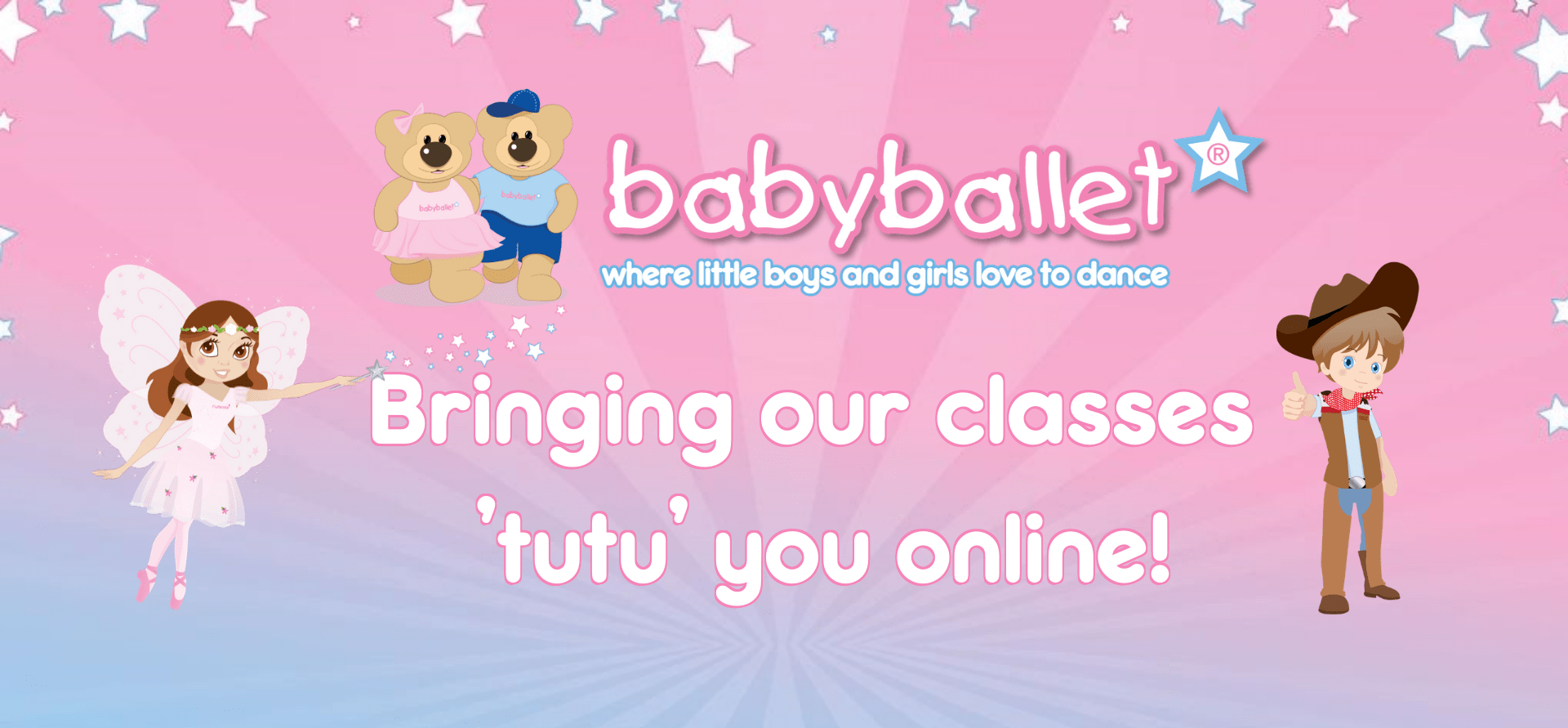 Coronavirus measures at babyballet. Virtual dance classes taking place across the UK