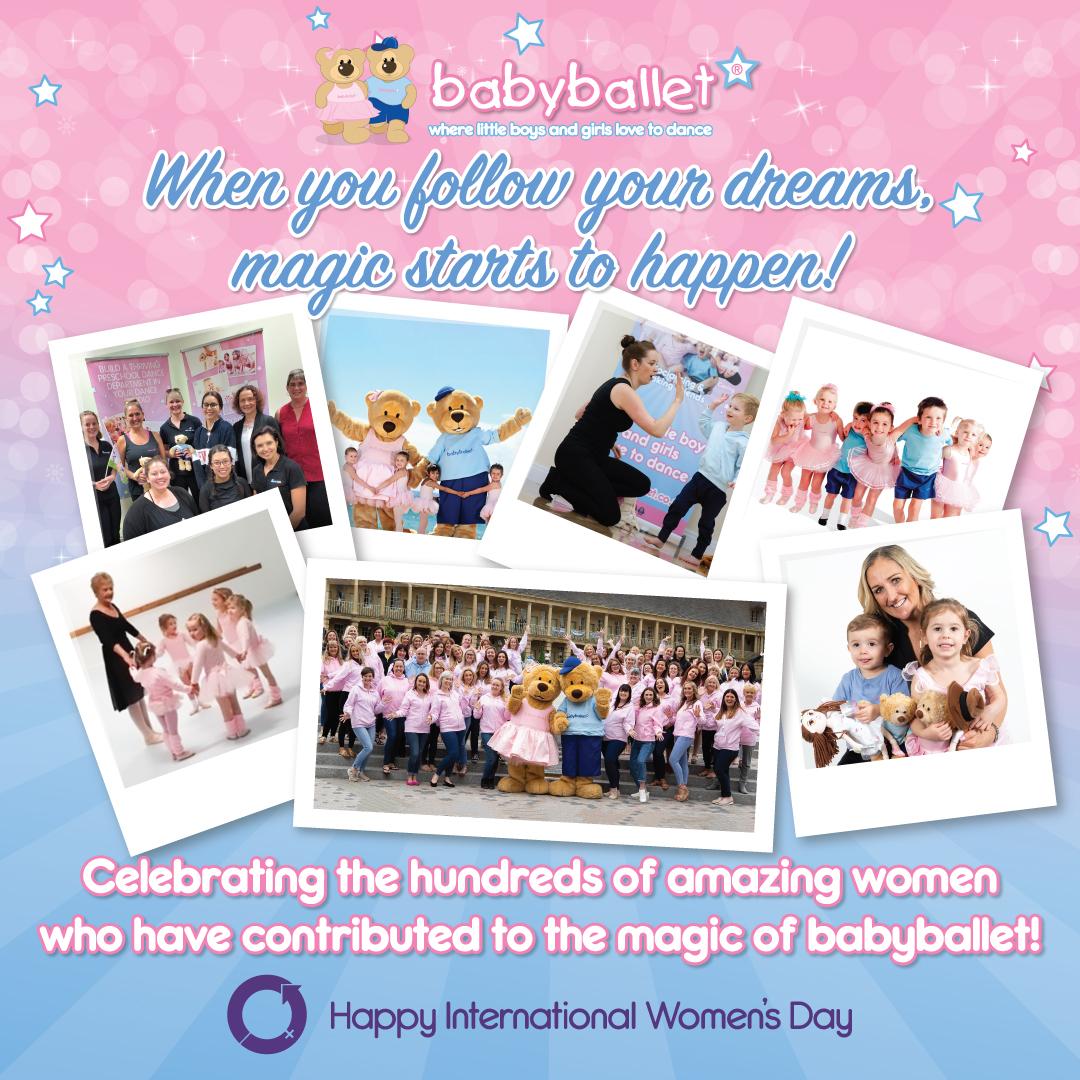 International Women's Day 2020 at babyballet