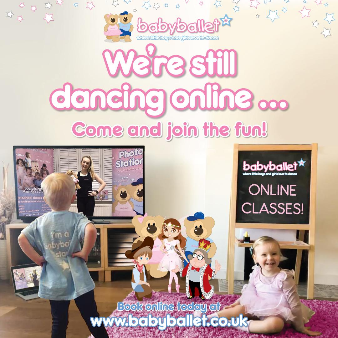 babyballet classes online