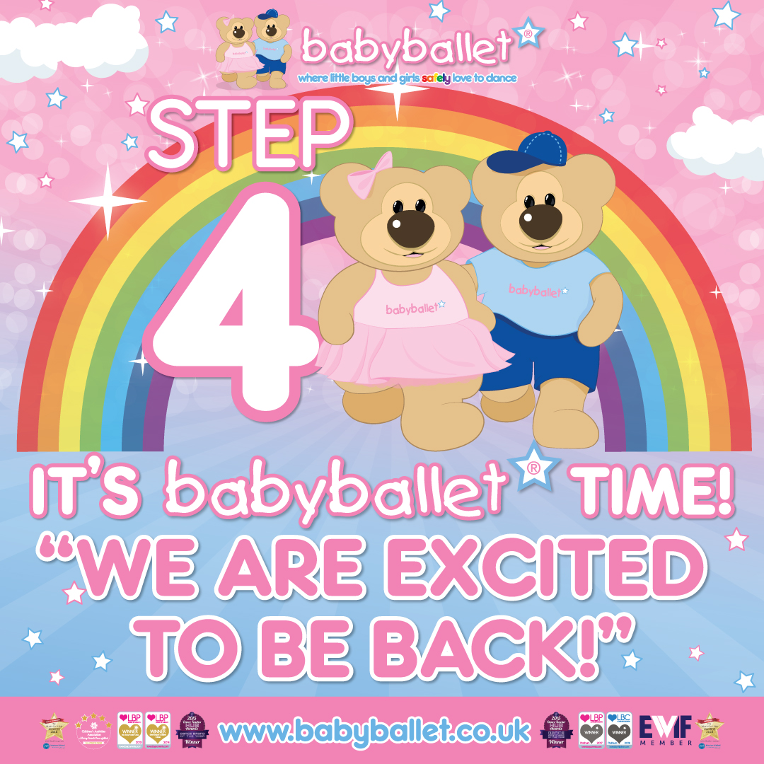 babyballet are going back to class with covid safety measures