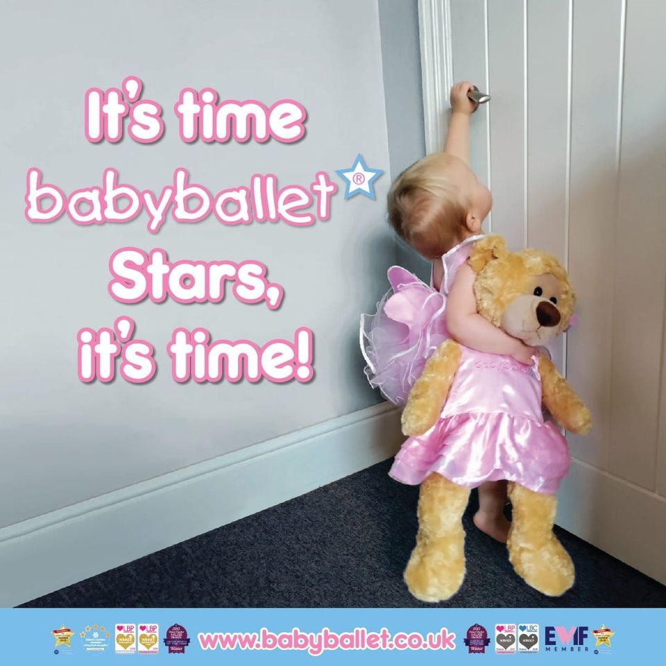 babyballet classes are back after the national lockdown in England