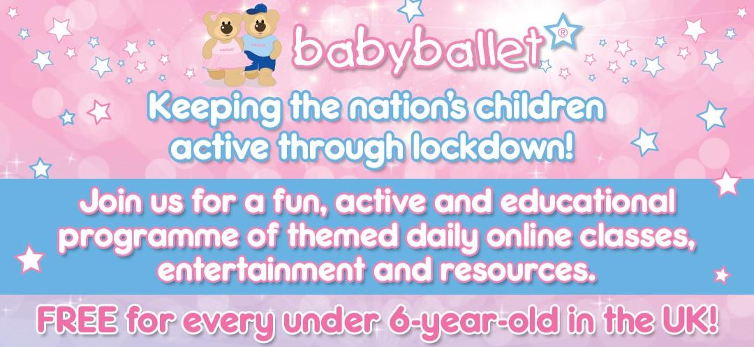 babyballet keeping the nation's children dancing through lockdown. Free programme