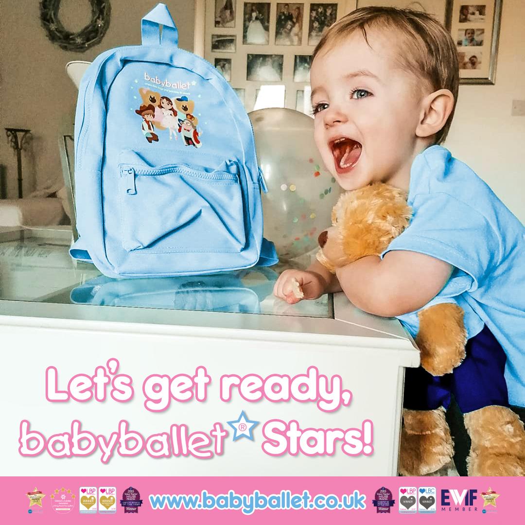 Let's get ready, babyballet Stars - Back to babyballet classes
