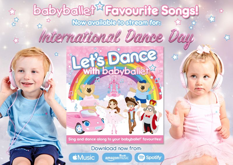 babyballet Music Available to Download_Let's Dance with babyballet