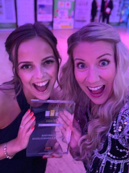 babyballet Biggleswade and Bedford Win Award at SME Business Awards Bedfordshire