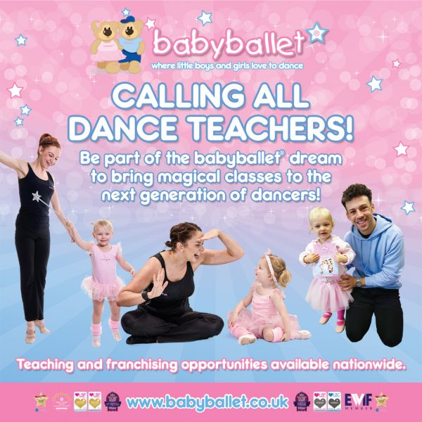 babyballet Teaching and Franchising Opportunities